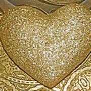 Lost My Golden Heart Art Print