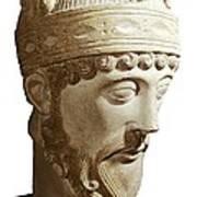 Lothair 941-986. King Of France Art Print