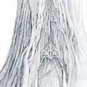 Lothlorien Mallorn Tree Art Print