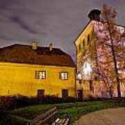 Lotrscak Tower Zagreb Famous Landmark Art Print