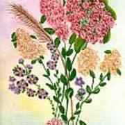 Lots Of Flowers Art Print