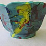 Lotus Bowl Plant Pot Ceramic Art Print