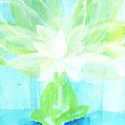 Lotus Petals Awakening Spirit Art Print by Ashleigh Dyan Bayer