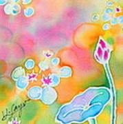 Lotus Pond Art Print