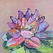 Lotus V Art Print