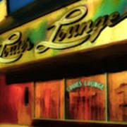 Louie's Lounge Art Print