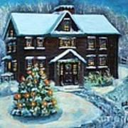 Louisa May Alcott's Christmas Art Print