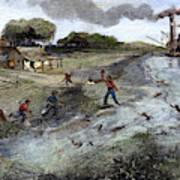 Louisiana Broken Levee Art Print