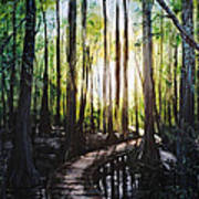 Louisiana Wildlife Throughway Art Print