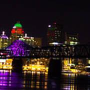 Louisville Skyline Art Print