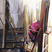 Louvre Closet Art Print