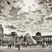 Louvre Art Print