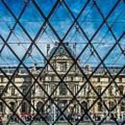 Louvre Museum In Paris Art Print