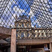 Louvre Museum Paris France Art Print