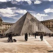Louvre Museum - Paris Art Print