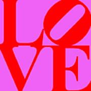 Love 20130707 Red Violet Art Print