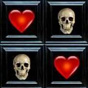 Love And Death Vii Art Print