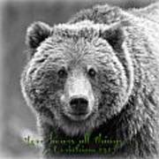 Love Bears All Things ... Art Print
