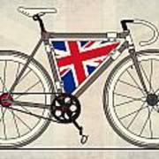Love Bike Love Britain Art Print by Andy Scullion