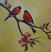 Love Birds Art Print by Kelley Smith