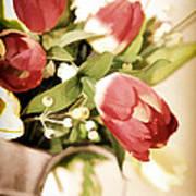 Love Blooms Here Art Print