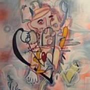 Love Collides  Art Print