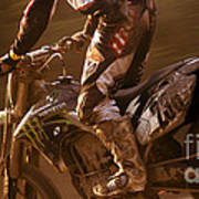 Love Enduro Art Print