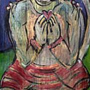 Love For Hanuman Art Print