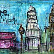 Love For London Art Print