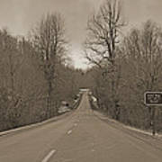 Love Gap Blue Ridge Parkway Art Print