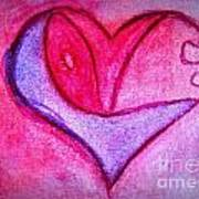 Love Heart 3 Art Print
