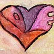 Love Heart 4 Art Print