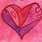 Love Heart 6 Art Print