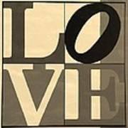 Love In Sepia Art Print