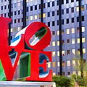 Love In The Park Art Print