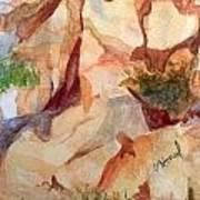 Love In The Rocks Medjugorje 2 Art Print