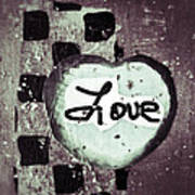 Love Is All You Need Art Print by Patricia Januszkiewicz