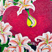 Love Is Flourishing Art Print