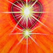 Love Is Light Art Print