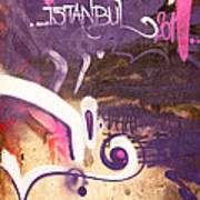 Love Istanbul 02 Art Print