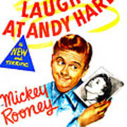 Love Laughs At Andy Hardy, Us Poster Art Print