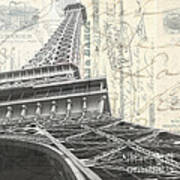 Love Letter From Paris Square Art Print