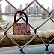 Love Lock Art Print