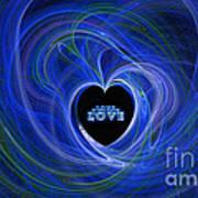 Love - Love - Love Art Print