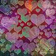 Love... Love... Love Art Print