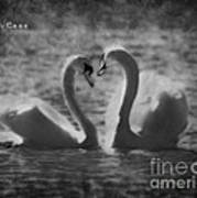 Love... Art Print by Nina Stavlund