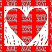 Love On Love Art Print