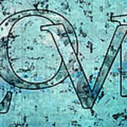Love - S0301b01 Art Print