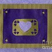 Love Series Collage - Heart 4  Art Print
