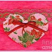 Love Series Collage - Heart 8 Art Print